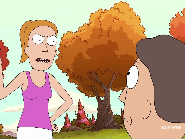 Rick and Morty: Summer Yells at Jerry