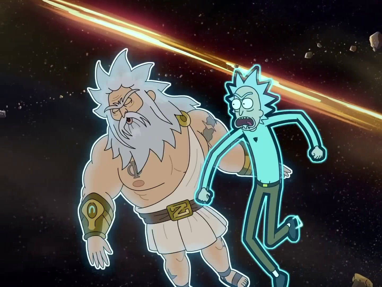 Rick and Morty: Rick Vs. God