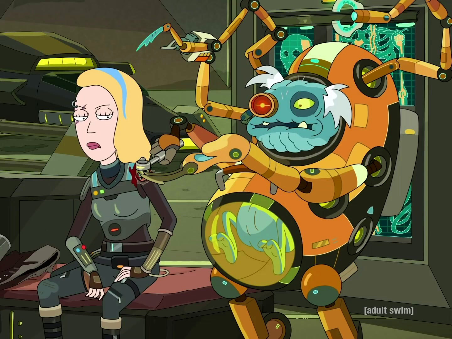 Rick and Morty: Star Mort: Rickturn of the Jerri