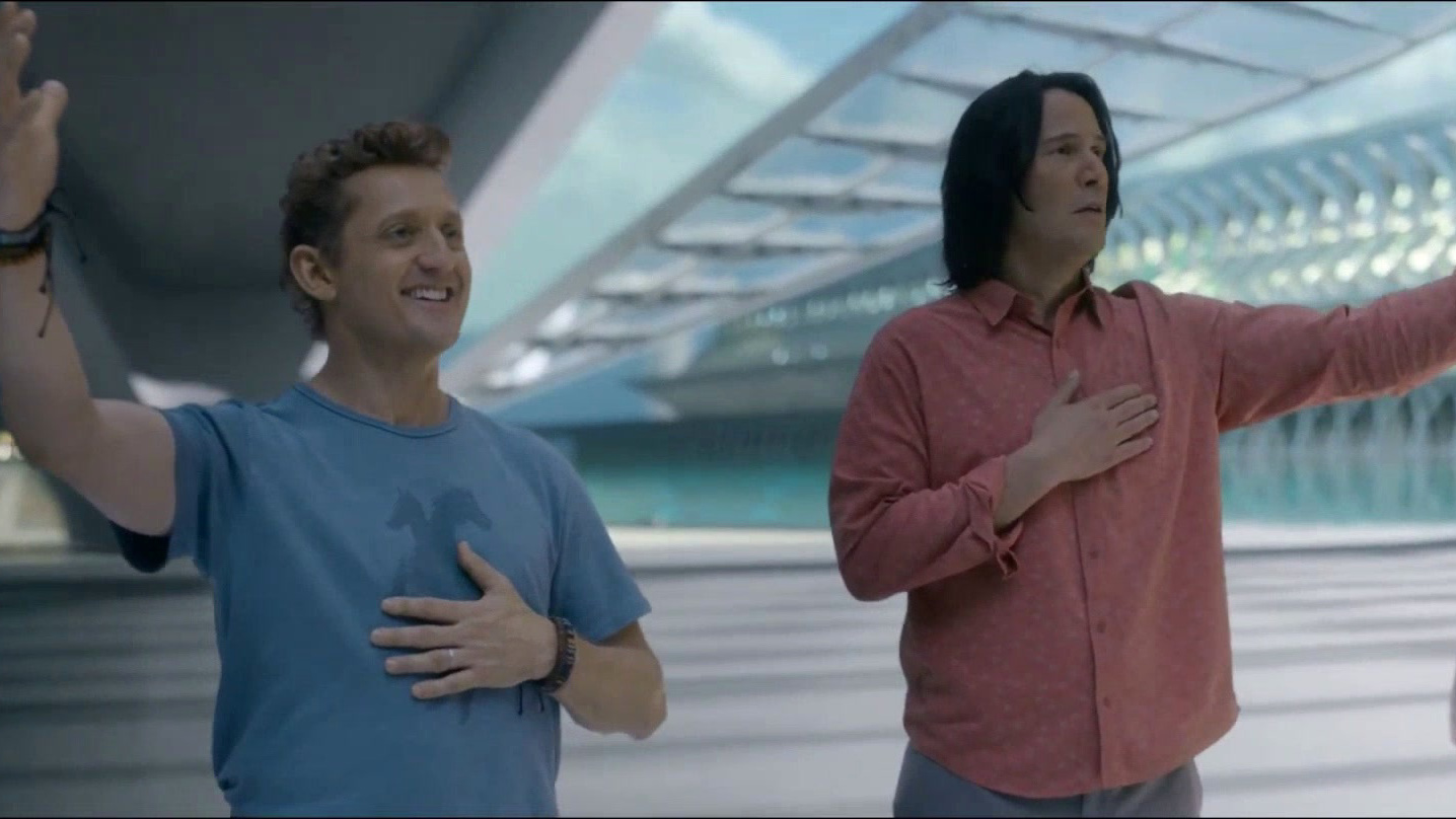 Bill & Ted Face The Music (Teaser Trailer)