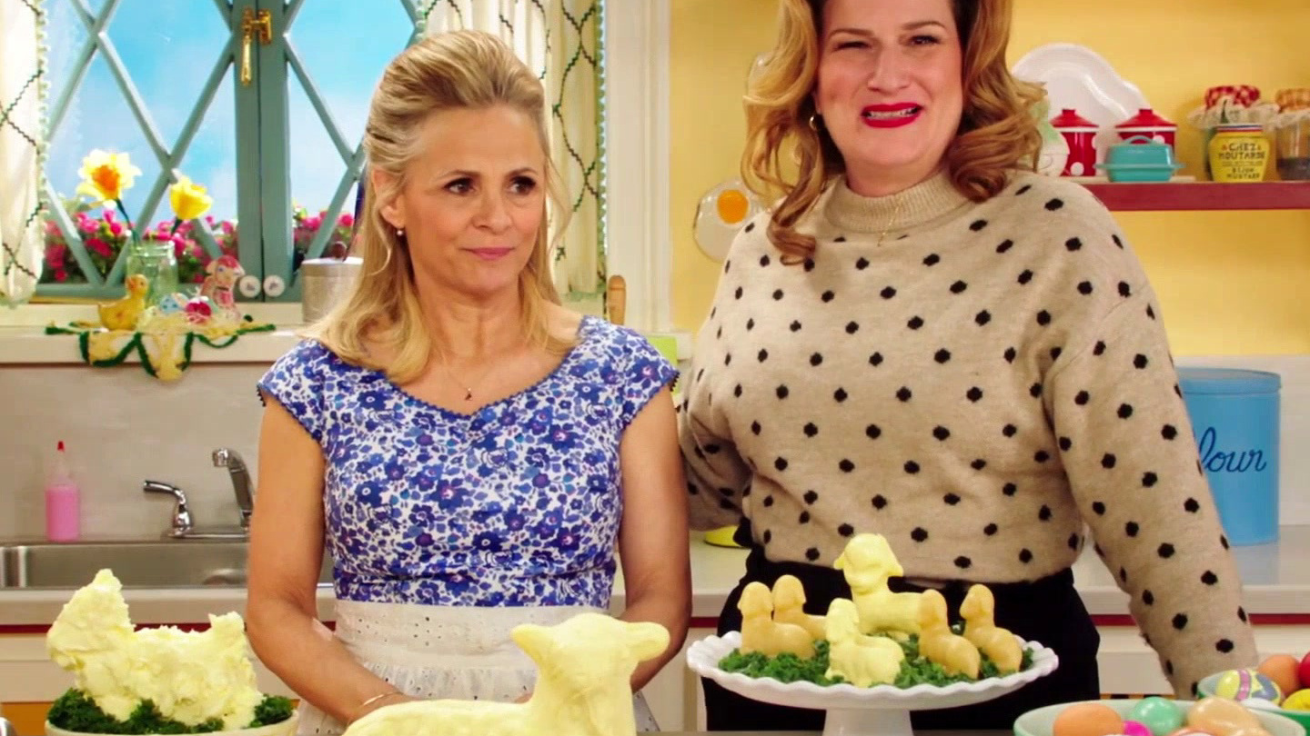 At Home with Amy Sedaris: Amy's Sister Is Keeping It Together for Easter