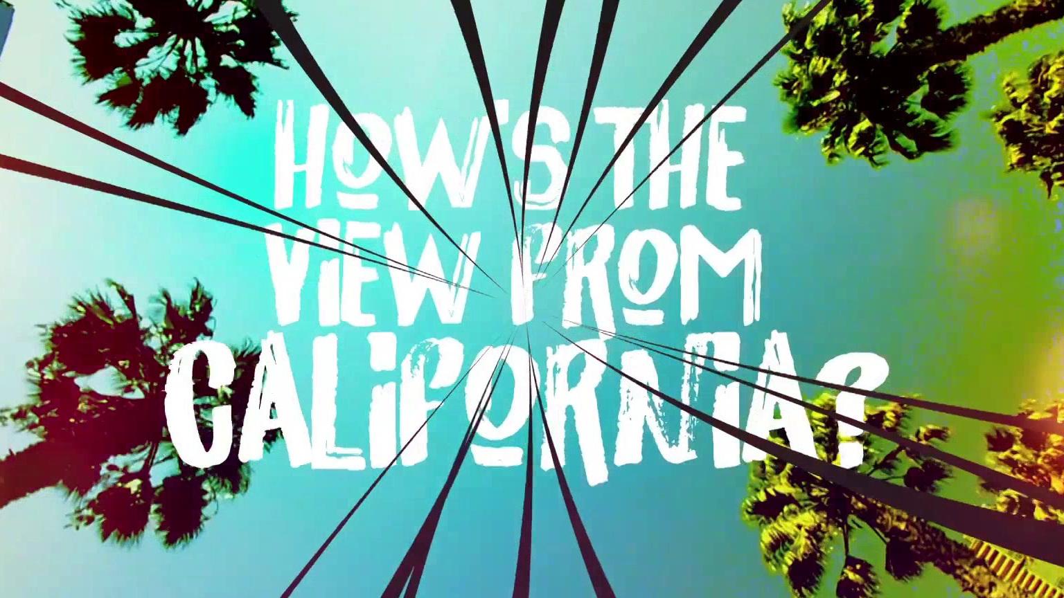 Songland: Usher's Lyric Video For California