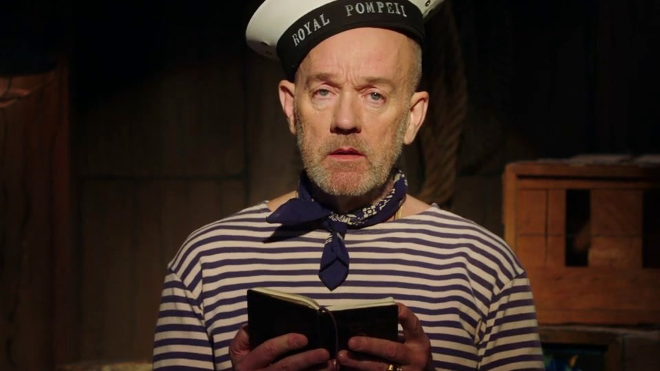 At Home with Amy Sedaris: Michael Stipe's Ode to the Sea