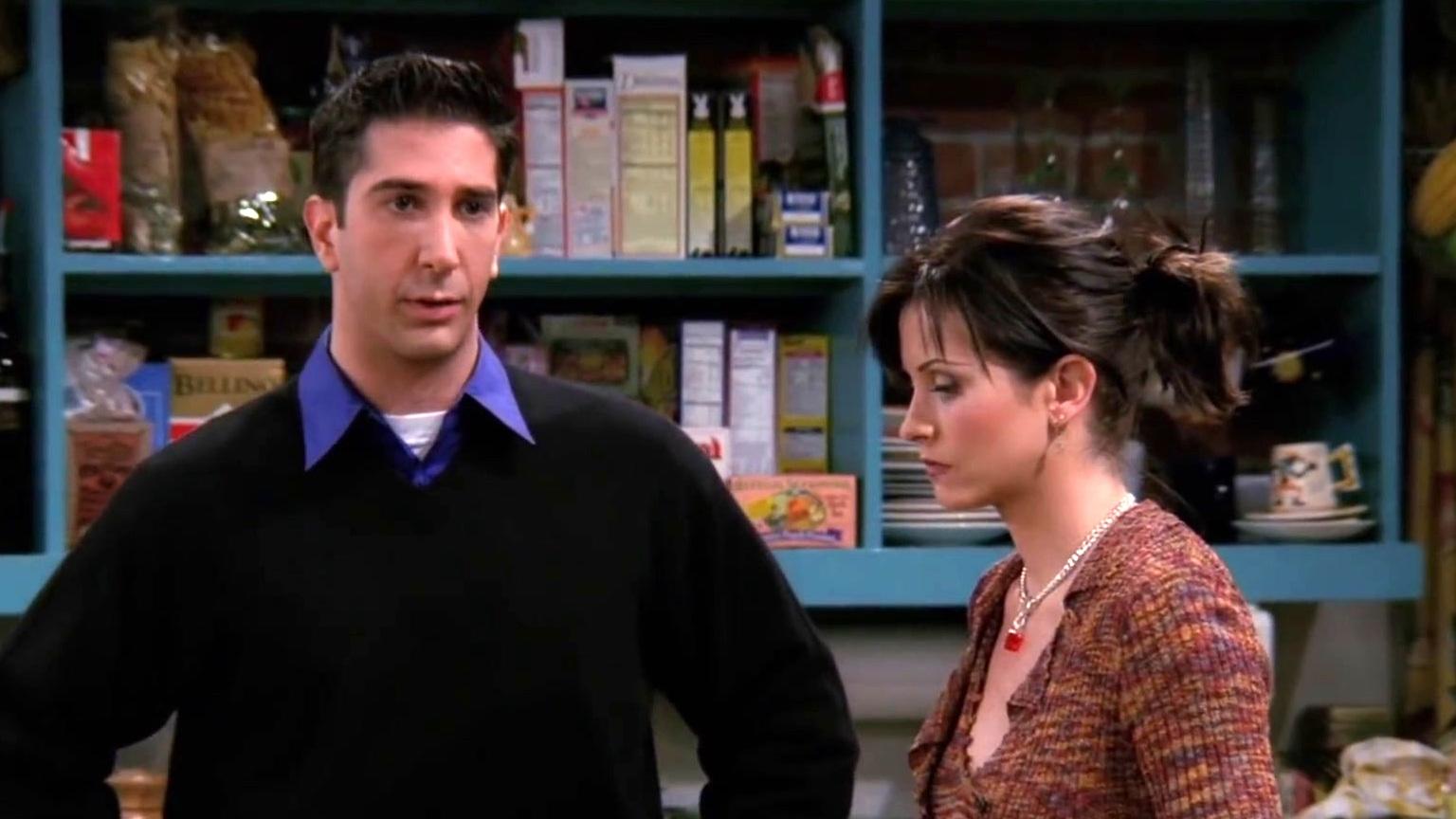 Friends: Monica Breaks Ross' Nose (Clip)
