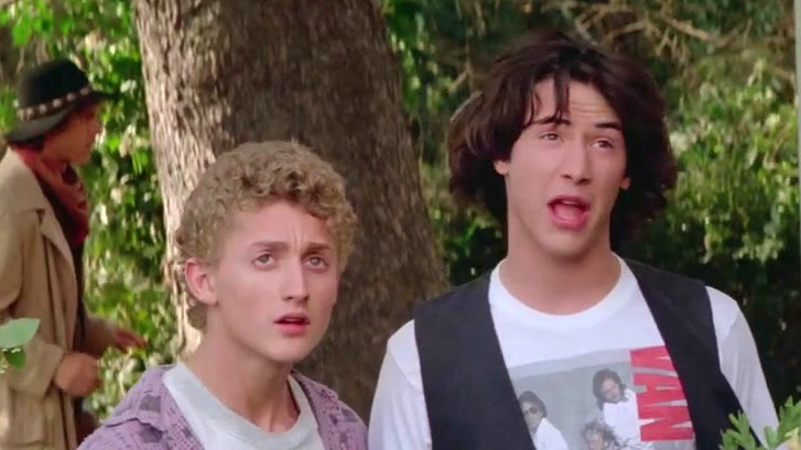 Bill And Ted's Excellent Adventure (International 4K Trailer)