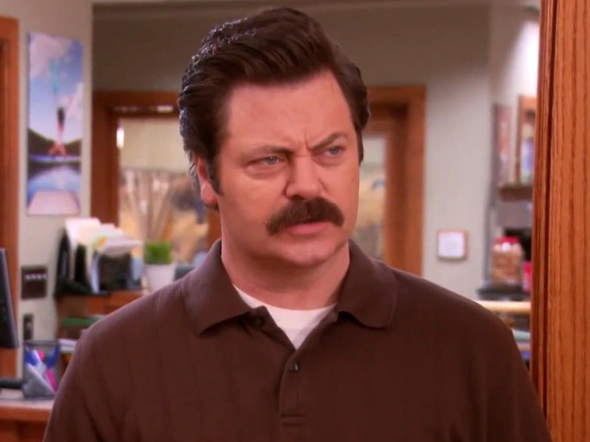 Parks And Recreation: Ron Swanson Doesn't Regret Punching Jeremy Jamm