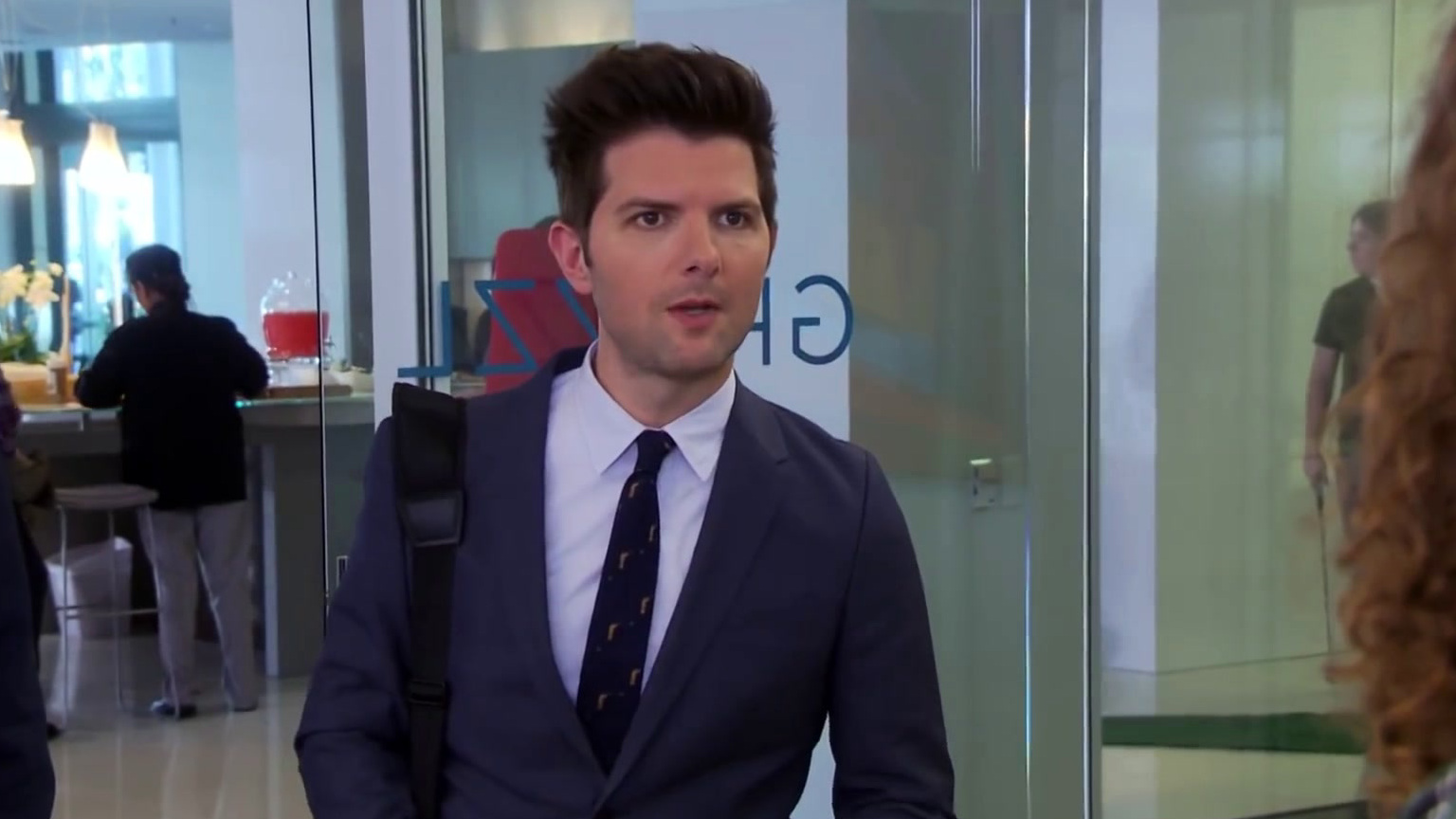 Parks And Recreation: Ben Throws Down On Cones Of Dunshire