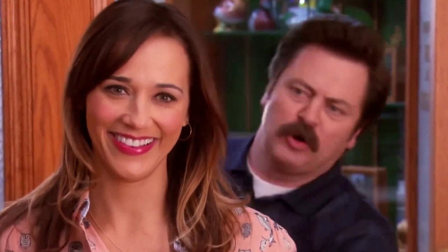 Parks And Recreation: Ron Swanson Tells Diane He Loves Her