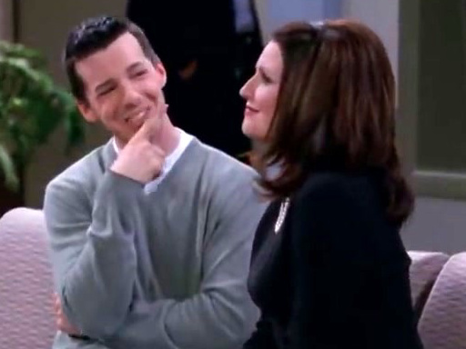 Will & Grace: Jack Cuts Up His Credit Cards