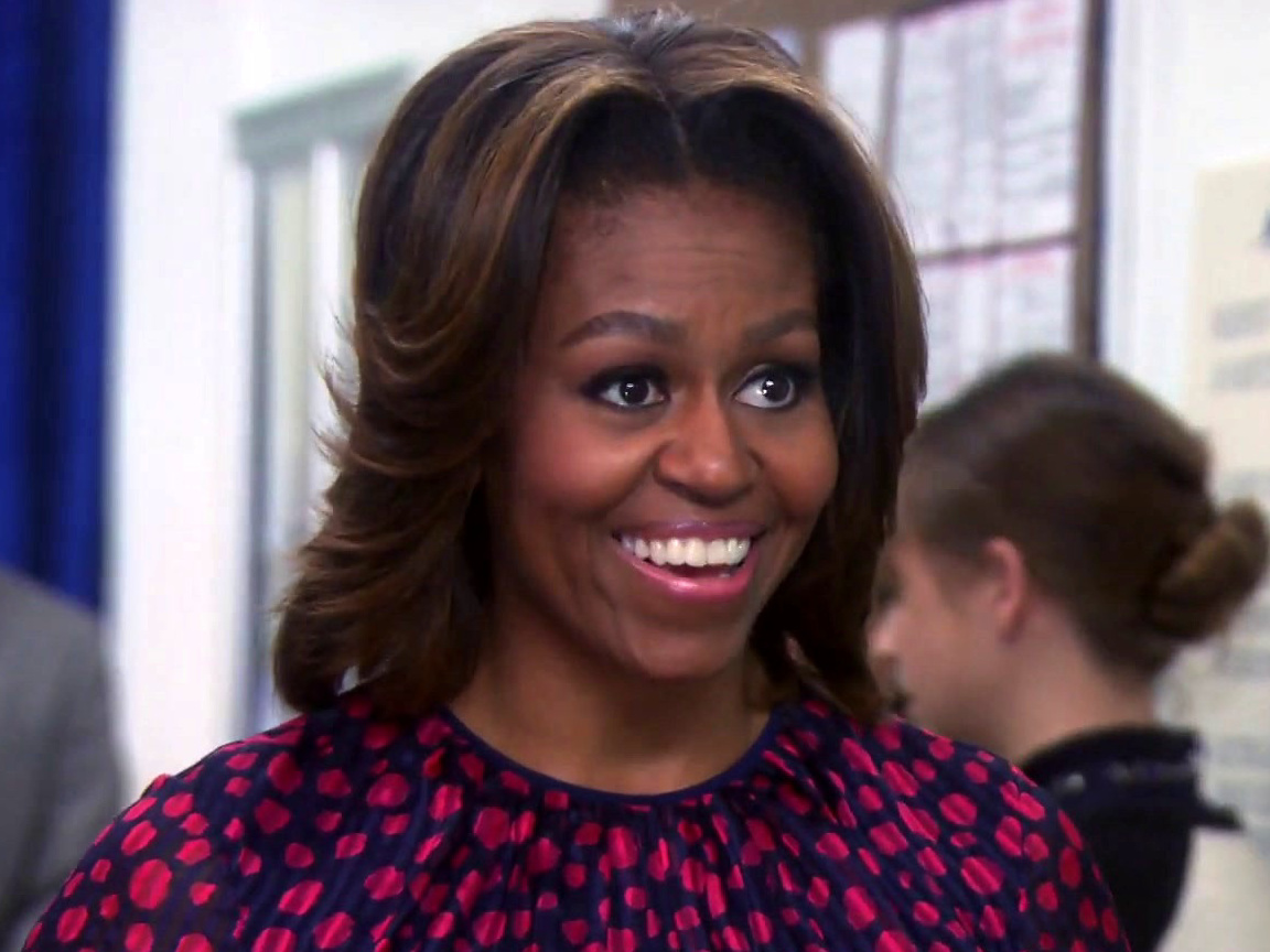 Parks And Recreation: Leslie Meets Michelle Obama