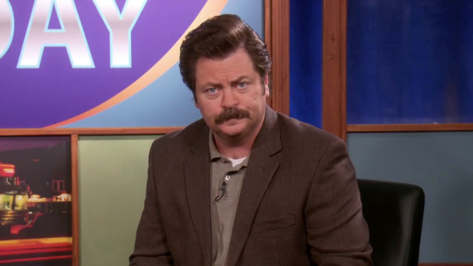 Parks And Recreation: Ron Takes Calls