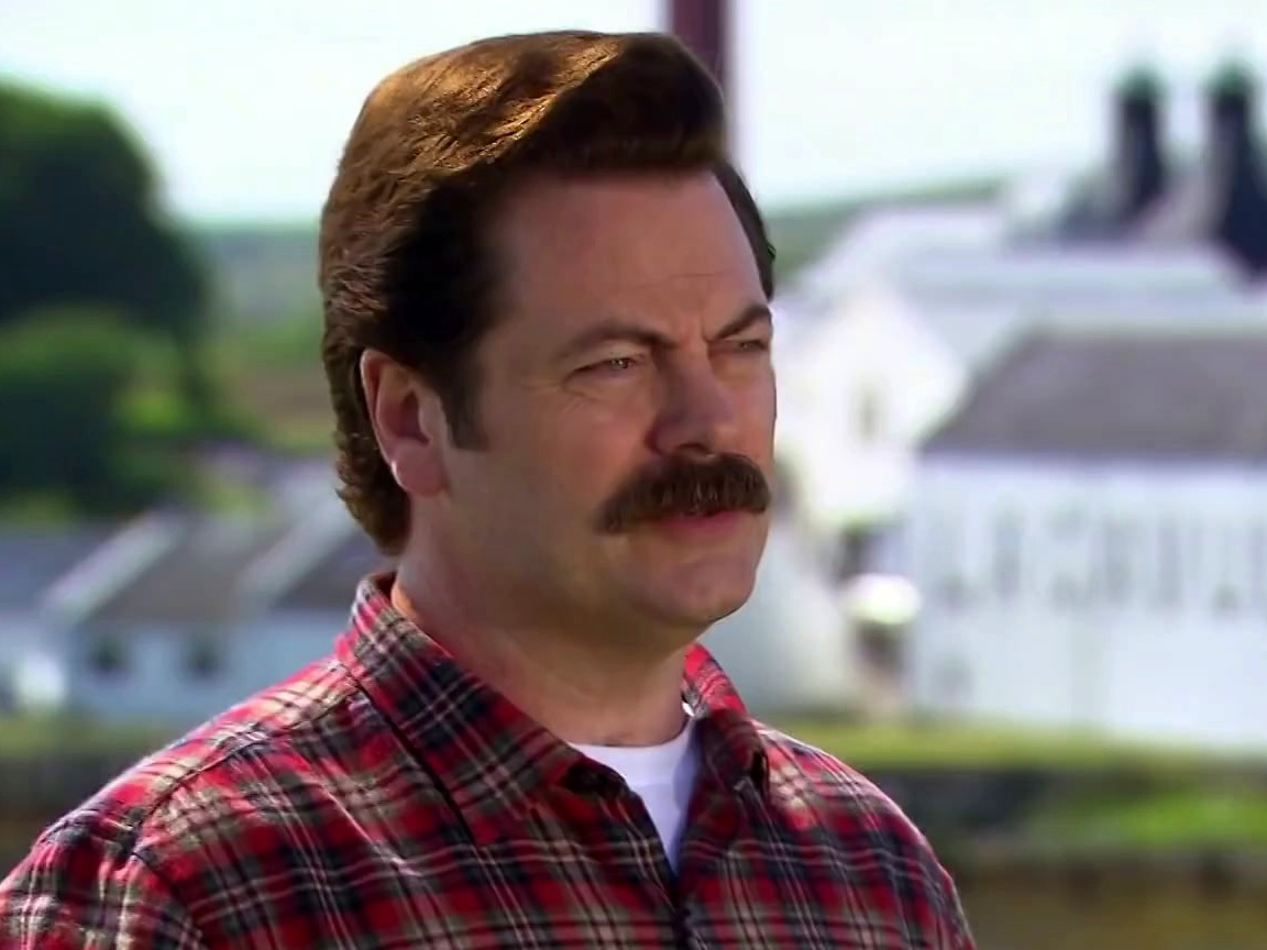 Parks And Recreation: Ron Swanson Visits Lagavulin Distillery