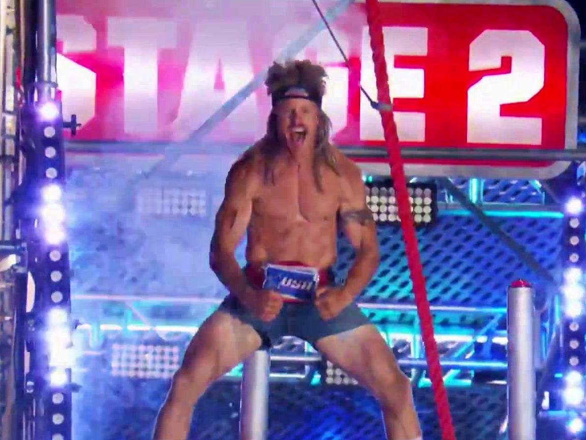American Ninja Warrior: Grant Mccartney Vs. Chad Flexington