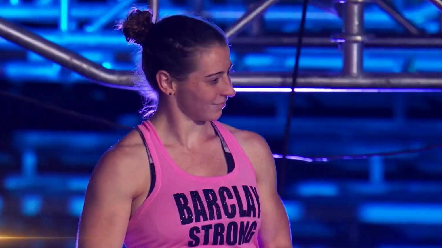 American Ninja Warrior: Barclay Stockett Vs. Jody Avila: Striding Steps