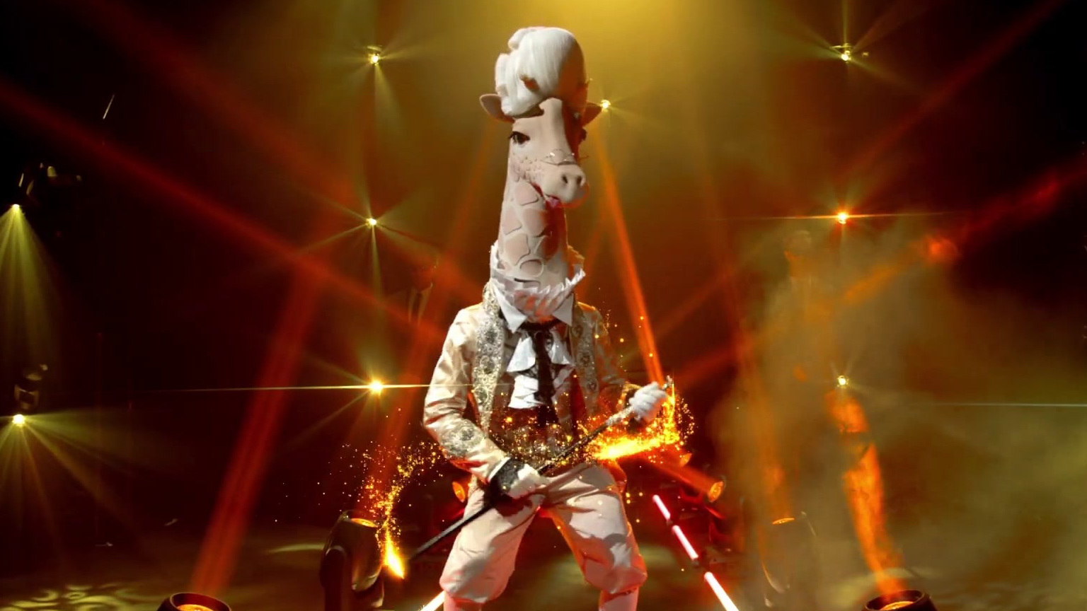 The Masked Singer: Introducing The Giraffe