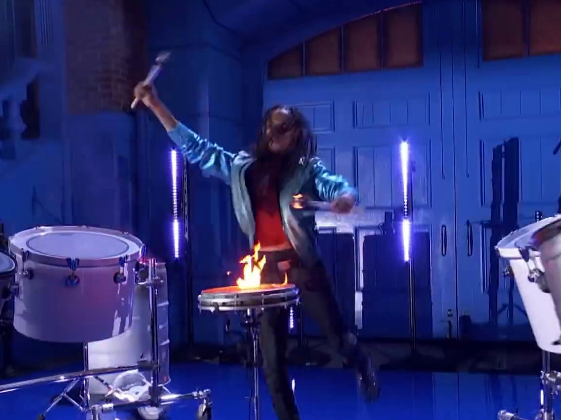America's Got Talent: Malik Dope Brings The House Down With Incredible Drumming