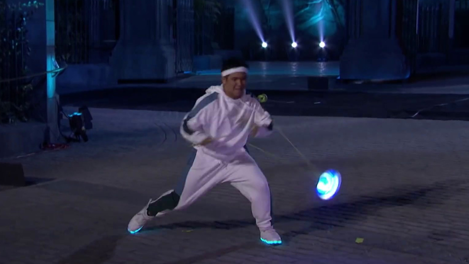 America's Got Talent: Spyros Bros Delivers An Epic Performance With Glowing Diabolos