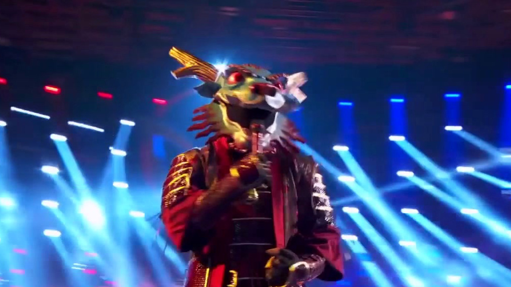 The Masked Singer: Dragon Performs Mama Said Knock You Out
