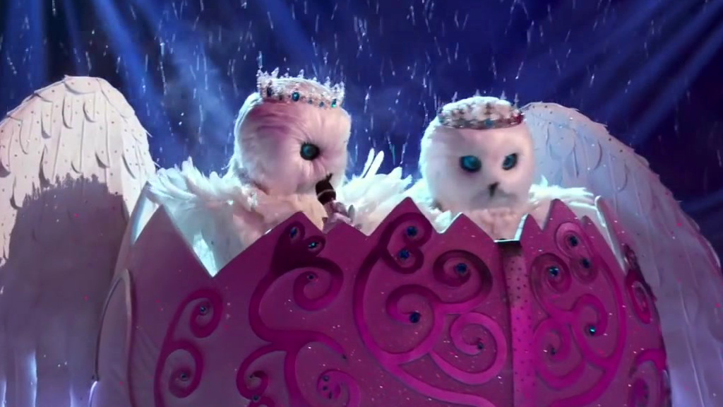 The Masked Singer: Snow Owls Perform Say Something