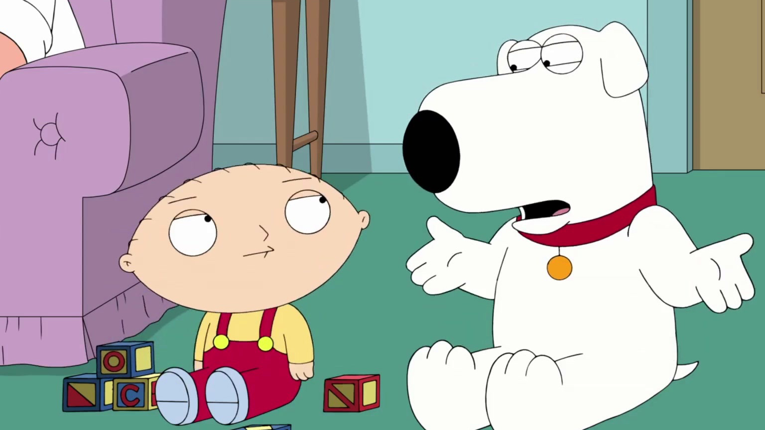 Family Guy: Stewie Is Worried Why Nobody Can Hear Him Speak