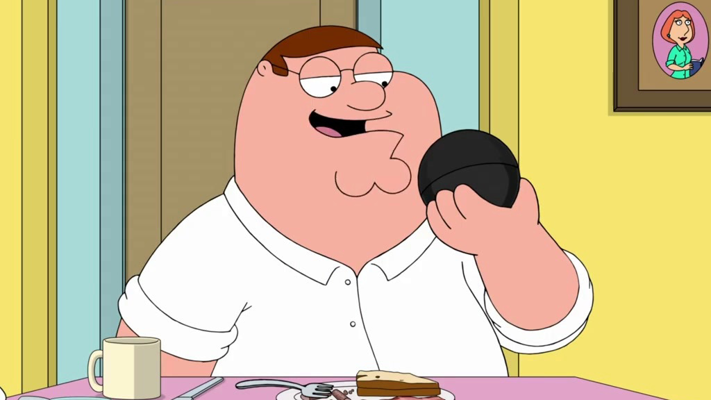 Family Guy: Peter Loves His Magic 8 Ball