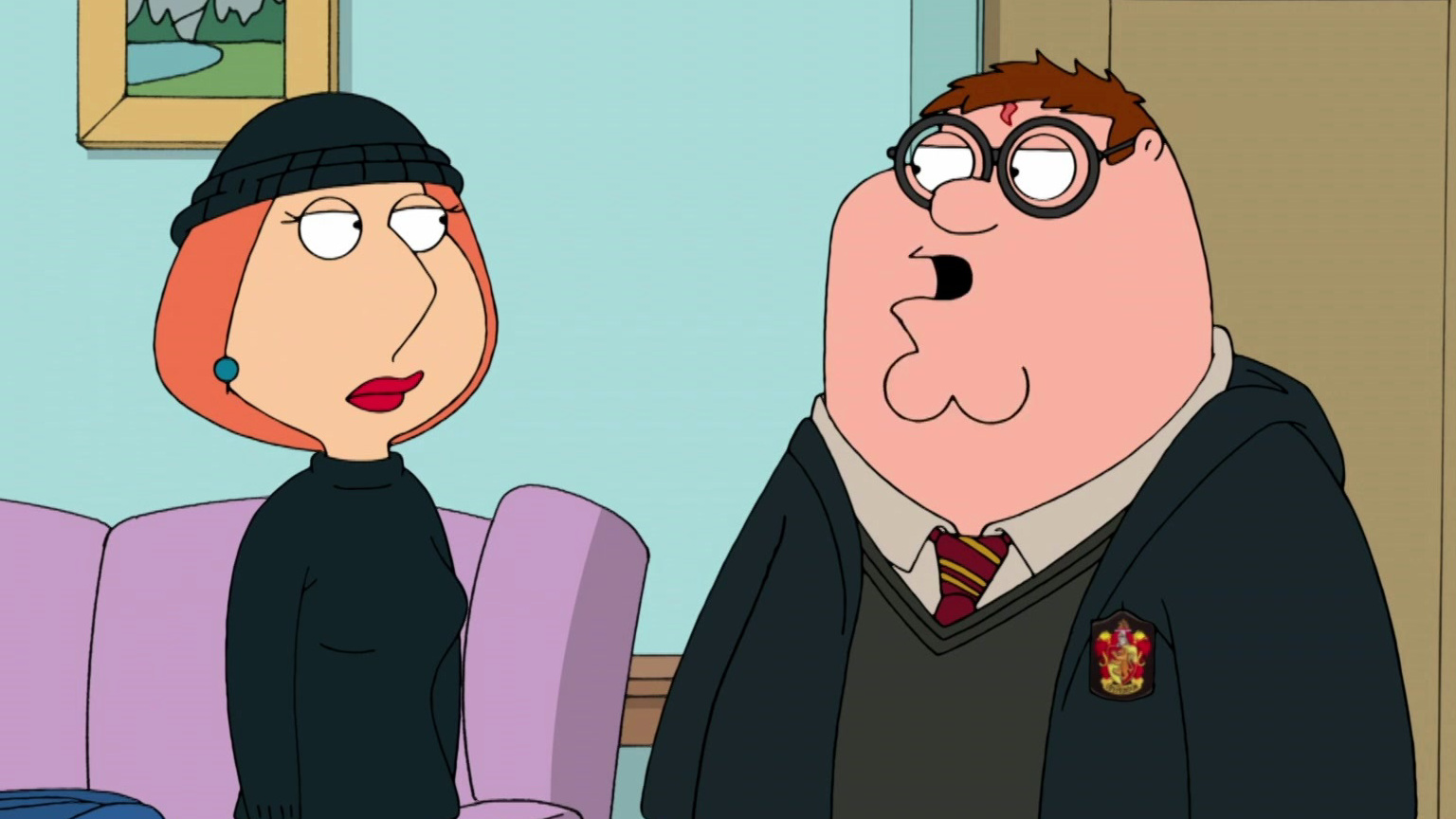 Family Guy: Peter And Lois Kidnap A Baby
