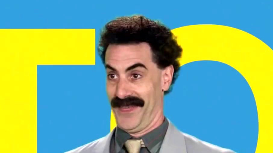 Borat Subsequent Moviefilm: Delivery Of Prodigious Bribe To American Regime For Make Benefit Once Glorious Nation Of Kazakhstan: Borat Is Back (Spot)