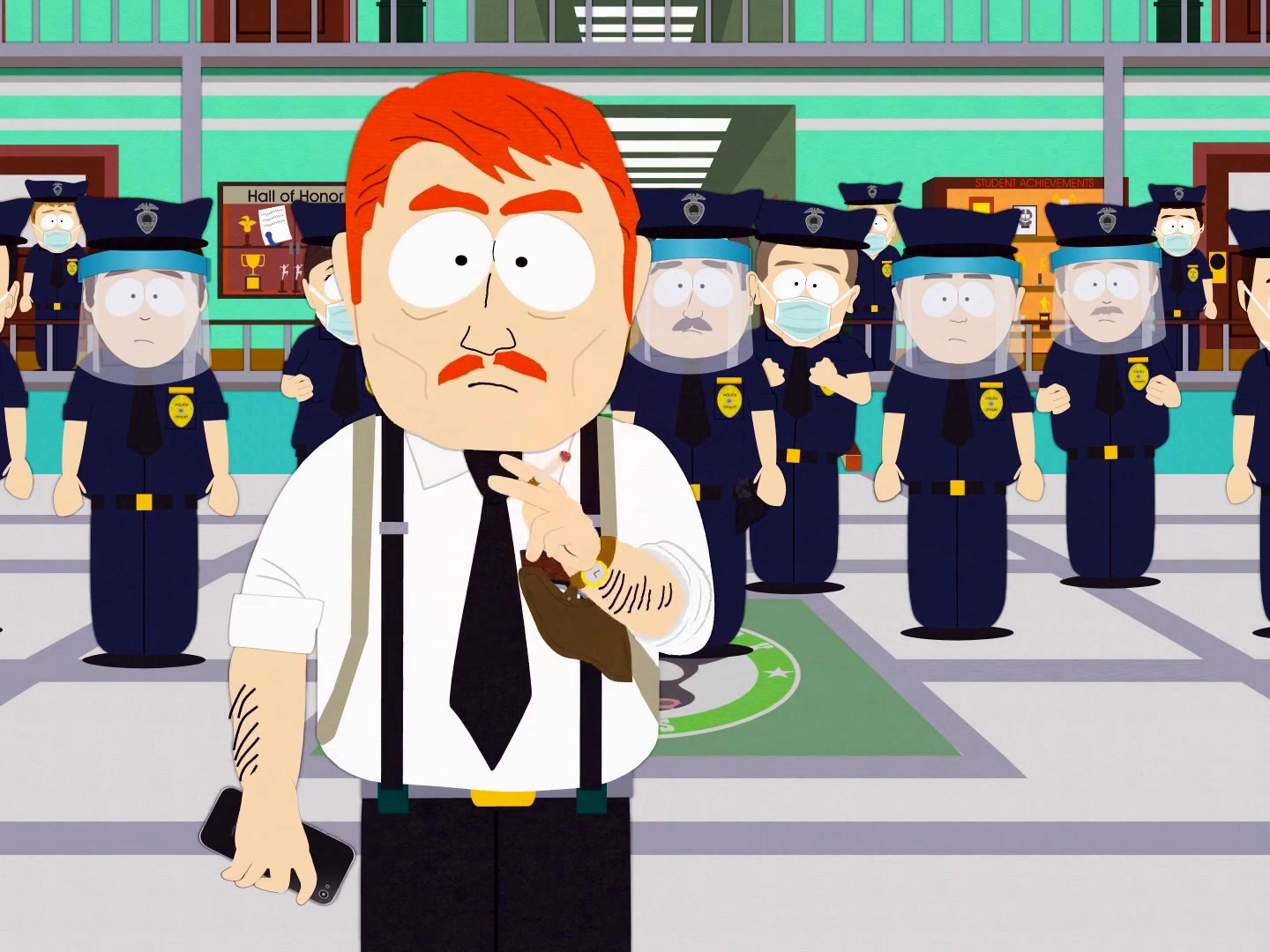 South Park: South Park Police Equipped To Manage Town in Chaos