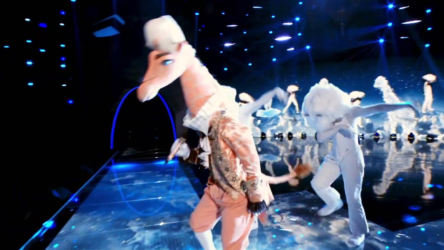 The Masked Singer: Giraffe Performs Get Down On It