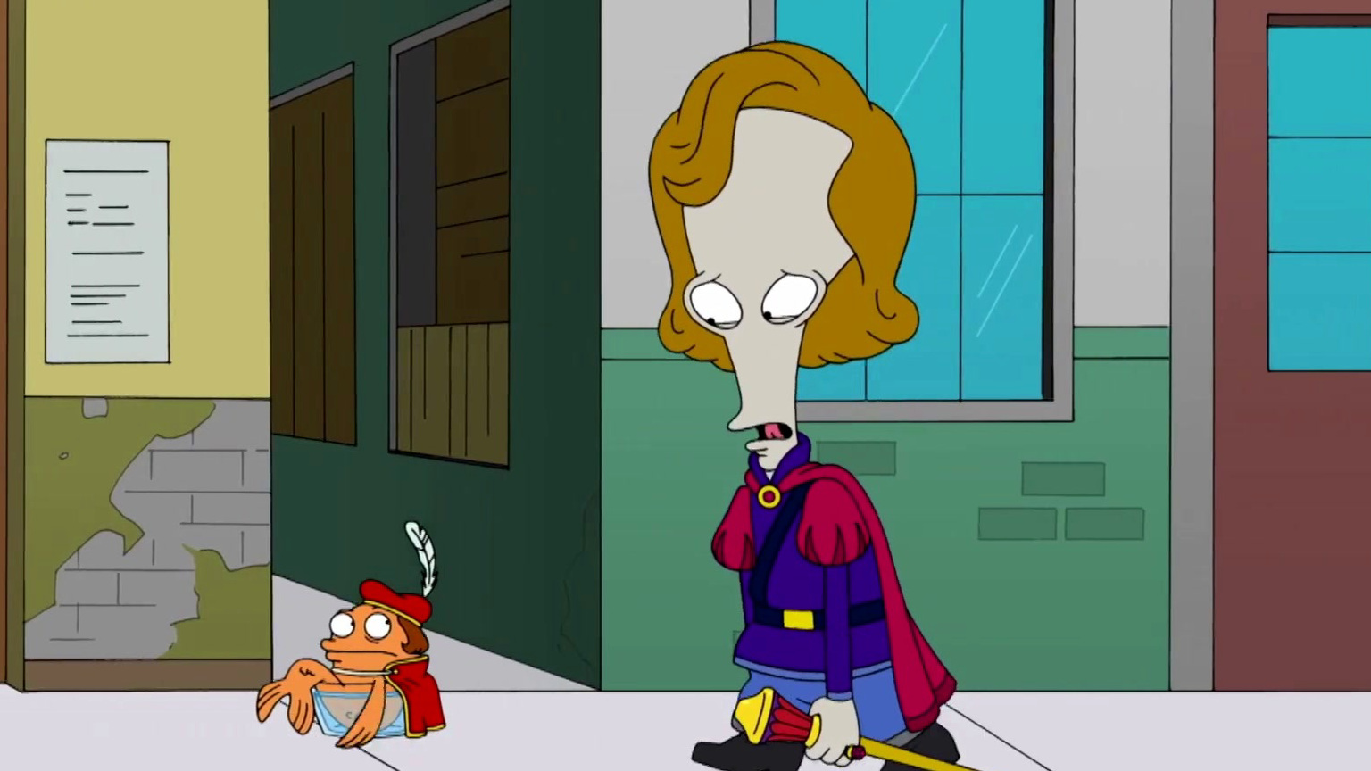 American Dad!: The Girl Of Roger's Dreams