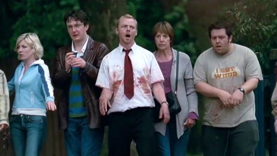 Shaun Of The Dead: Zombie Practice
