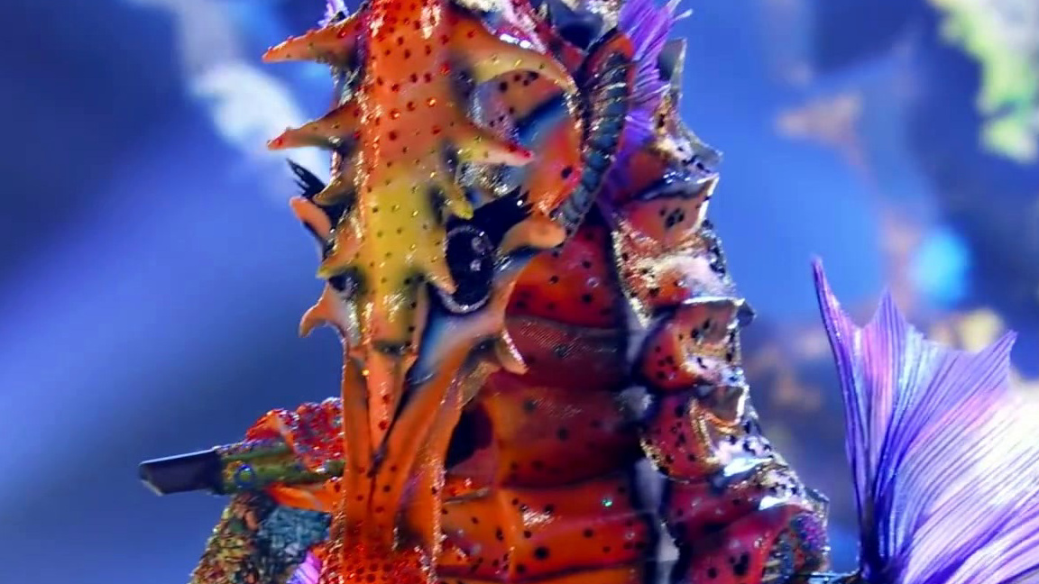 The Masked Singer: Seahorse Performs My Heart Will Go On