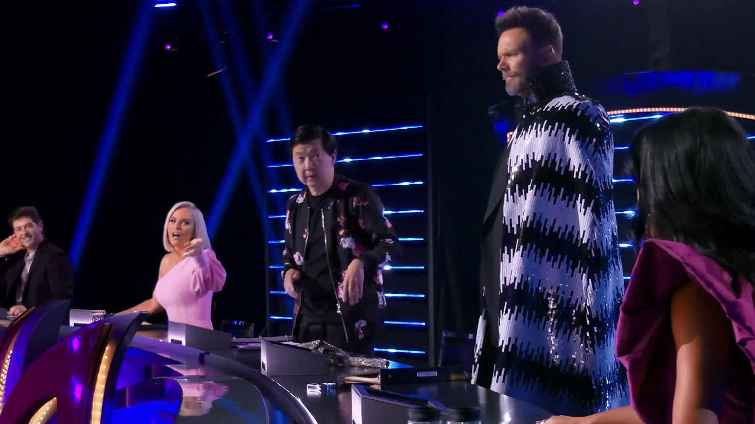 The Masked Singer: Joel Is The Nick Cannon Wanna Be