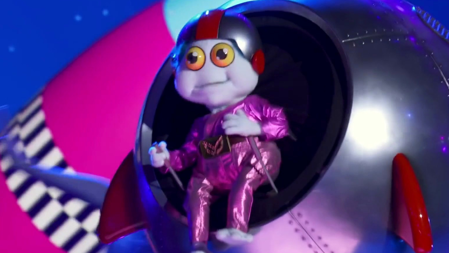 The Masked Singer: The Baby Alien's First Interview Without The Mask