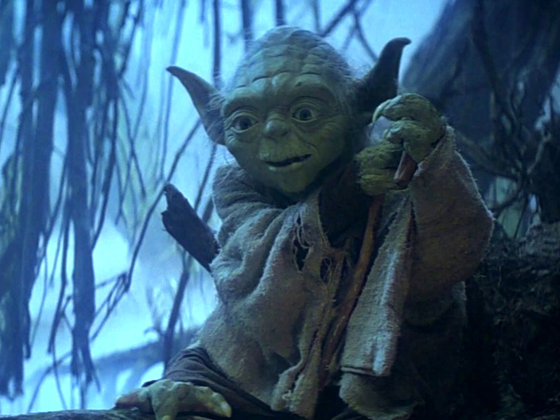 The Empire Strikes Back: Luke Meets Yoda For The First Time
