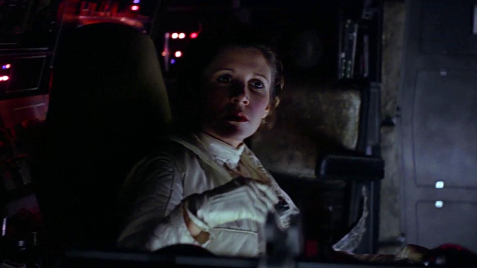 The Empire Strikes Back: The Millennium Falcon Escapes Exogorth