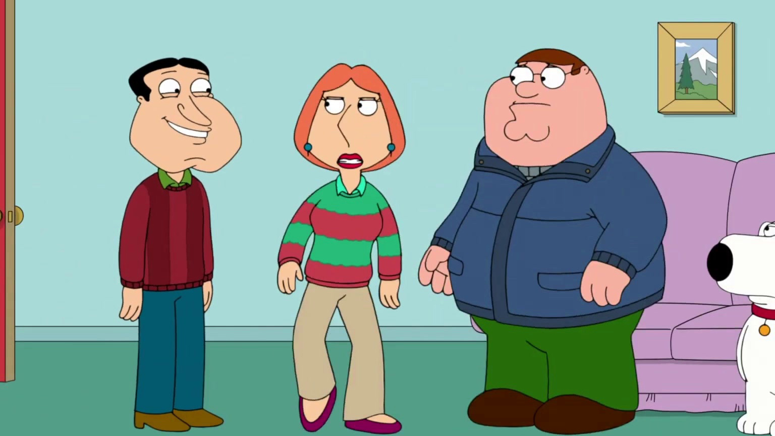 Family Guy: Lois Leaves For Christmas