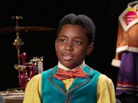 Jingle Jangle: A Christmas Journey: Madalen Mills And Kieron L. Dyer On Kieron's Character, 'Edison Latimer'