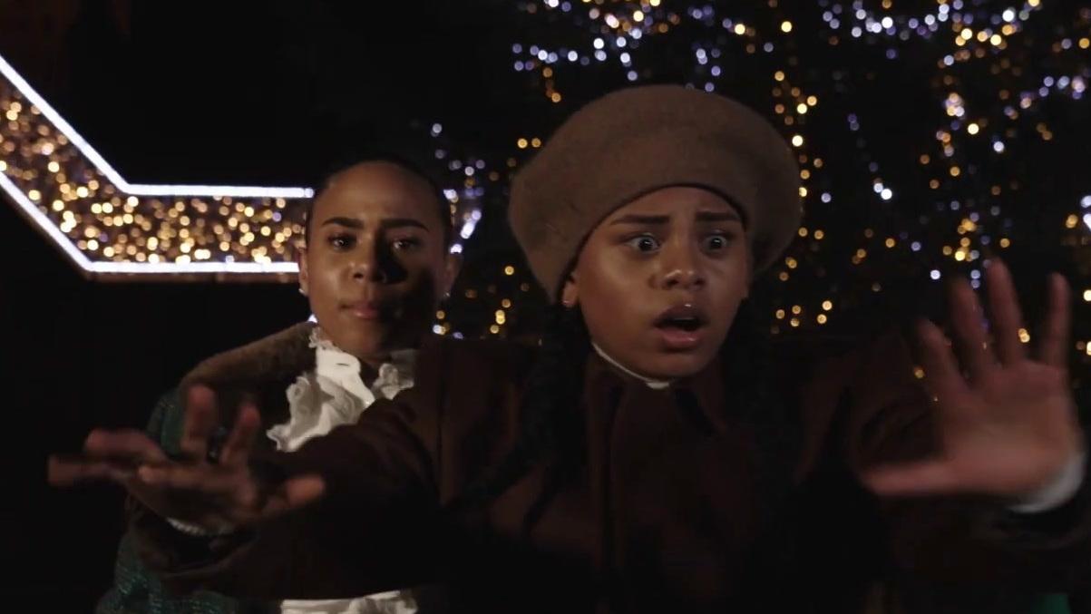 Jingle Jangle: A Christmas Journey: Norah, Yarah En Rosa Dansen Op Jingle Jangle In Maastricht (Netherlands)
