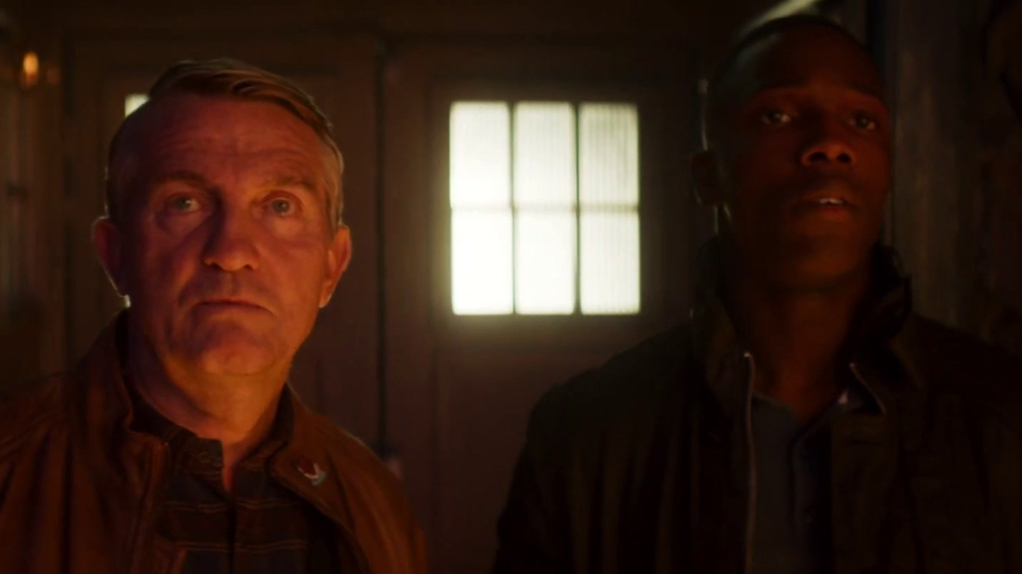Doctor Who: Ryan and Graham Leave the TARDIS