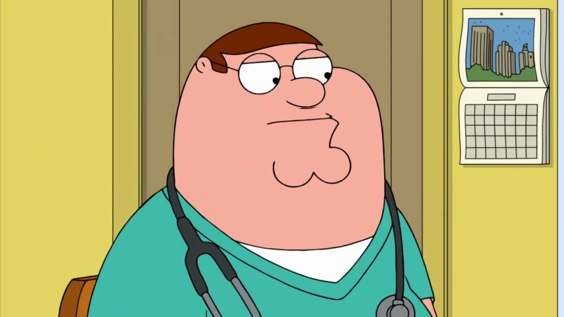 Family Guy: Peter's First Day As A Nurse