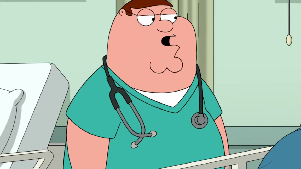 Family Guy: Peter Meets A Familiar Patient