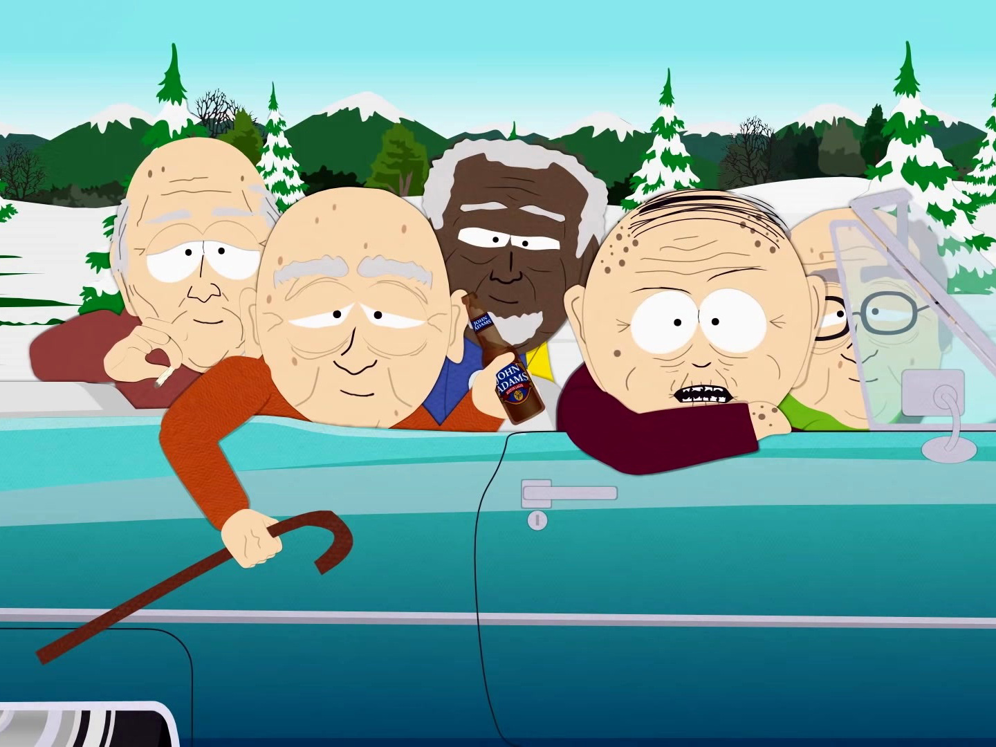 South Park: Vaccinated Seniors of South ParQ Head Out to the Bars