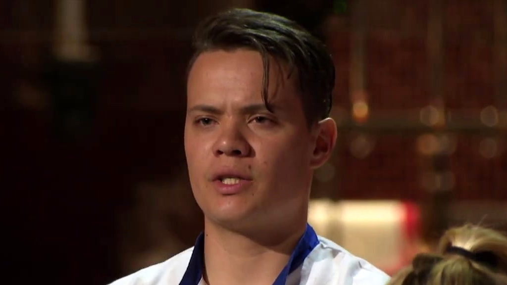 Hell's Kitchen: Marc Thinks The Blue Team Is Out To Get Him