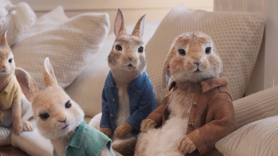 Peter Rabbit 2: The Runaway: My Voice Isn't Annoying