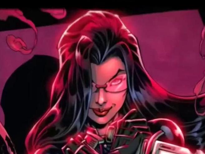 Snake Eyes: G.I. Joe Origins: The Baroness Comic Book Piece