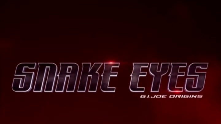 Snake Eyes: G.I. Joe Origins: Blind Master Comic Book Piece