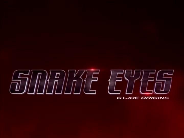 Snake Eyes: G.I. Joe Origins: Hard Master Comic Book Piece
