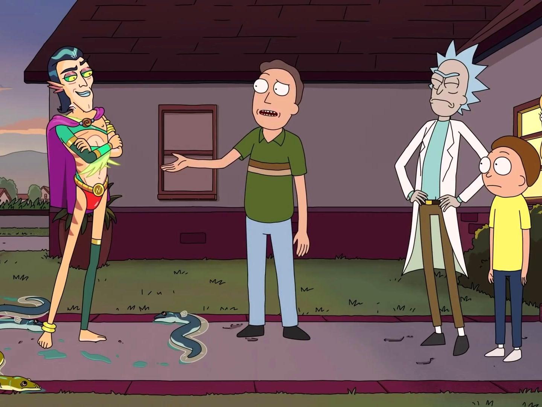 Rick and Morty: Mr. Nimbus Wants a Three-Way