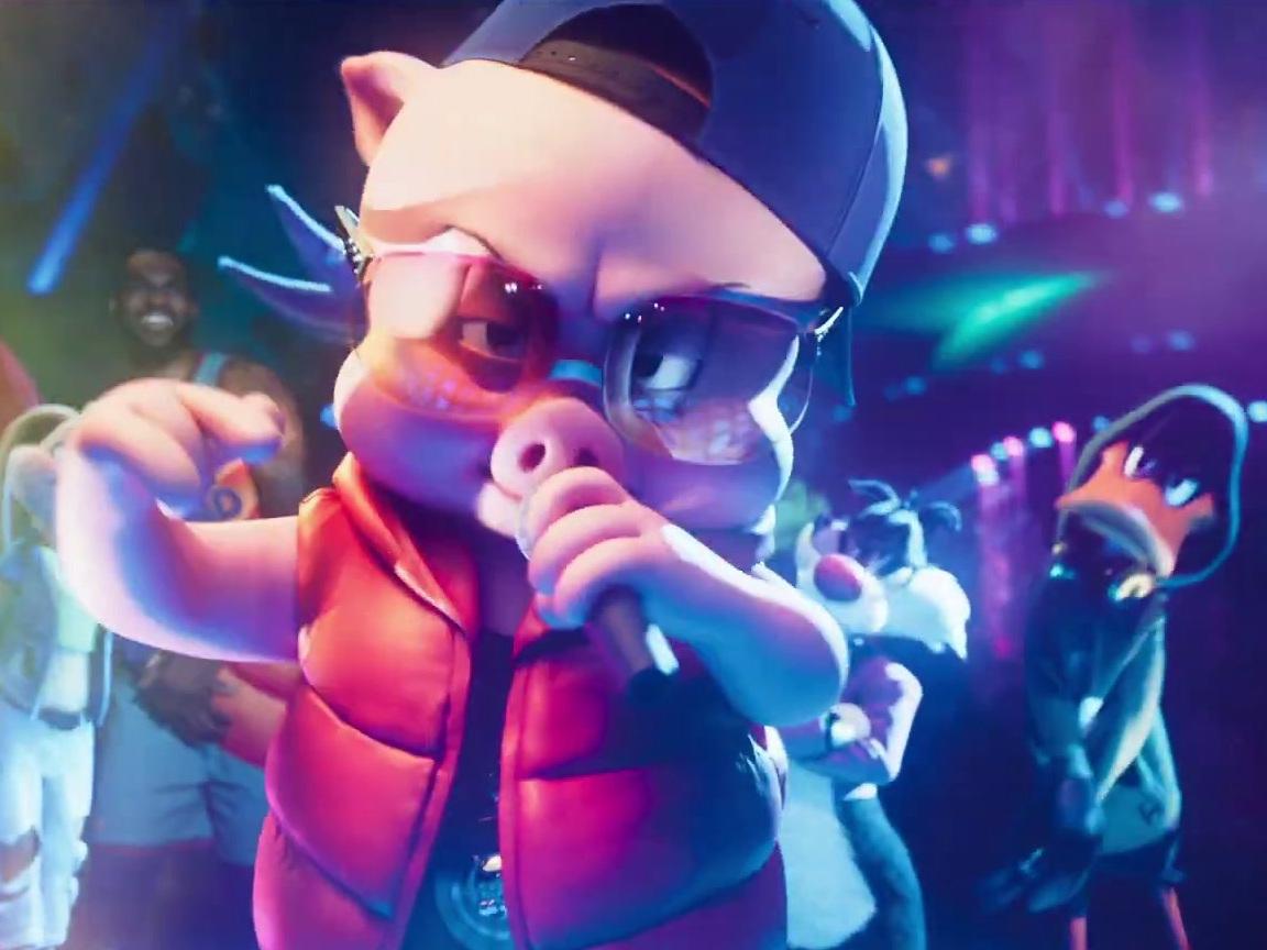 Space Jam: A New Legacy: Porky Pig Rap (UK)